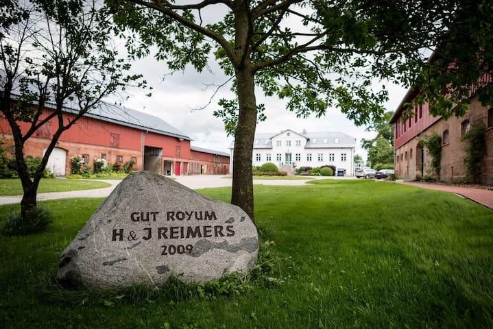Gut Royum (FeWo Große Diele, bis zu 6 Pers.) - Brodersby - Apartment