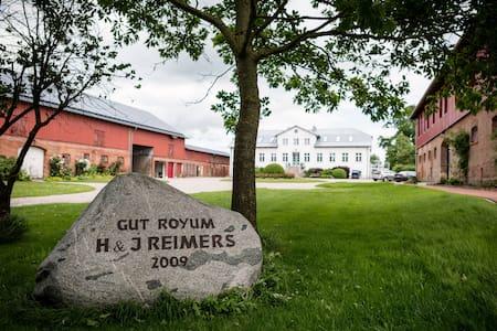 Gut Royum (FeWo Große Diele, bis zu 6 Pers.) - Brodersby - Apartamento