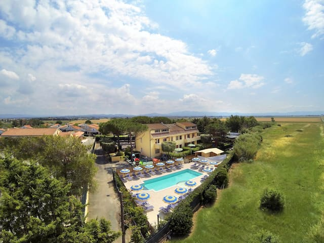 Apartment Residence Riviera in Cecina Mare for 6 persons