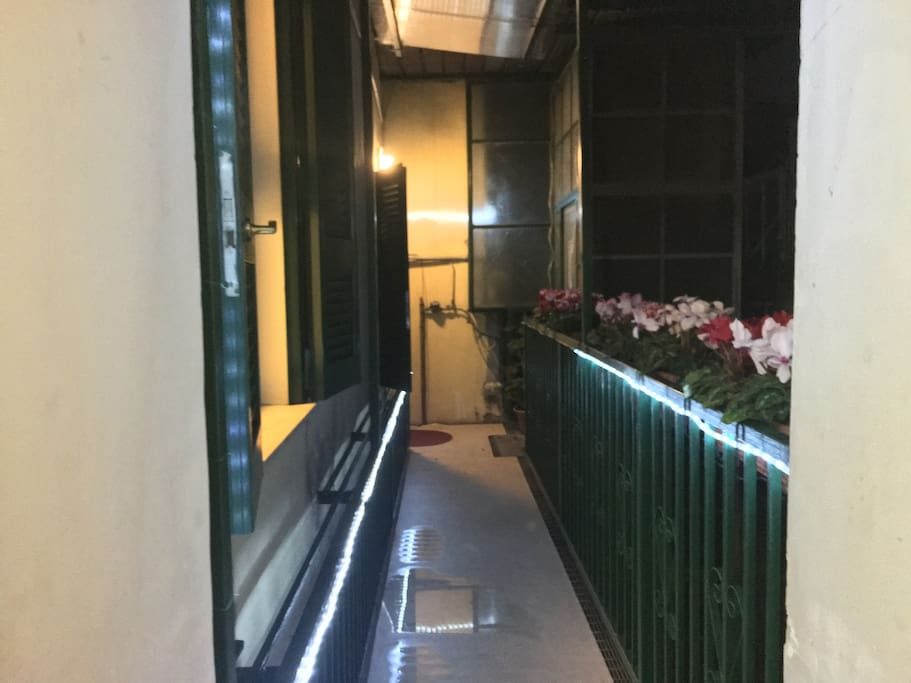 ballatoio sbarco ascensore