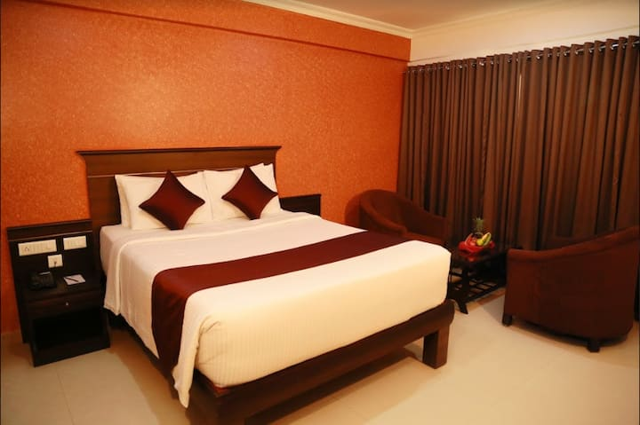The Dunes Continental  Deluxe room SRM Road Kochi