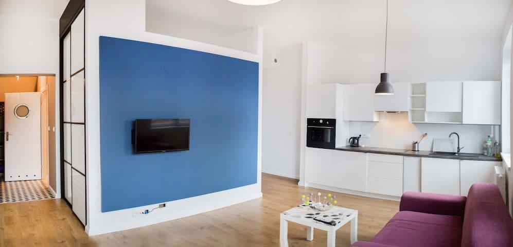 Nowoczesne mieszkanie typu studio - Chorzów - Apartamento