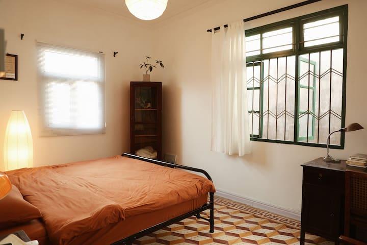 老物件情怀的卧室