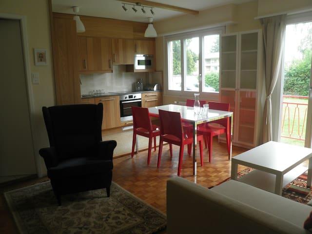 Joli appartement meublé, Versoix, Genève - Versoix - Apartamento