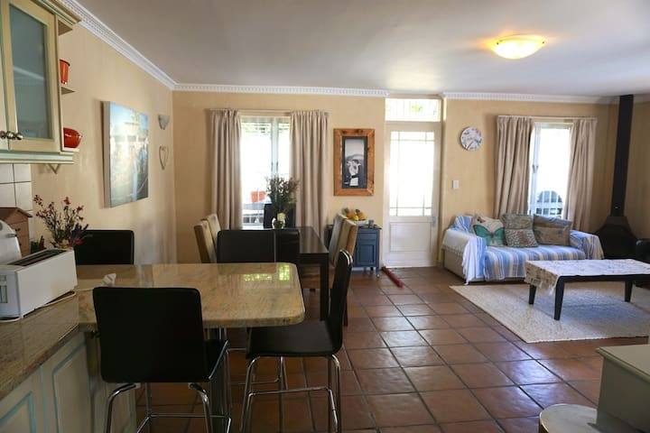 Cozy two bedroom townhouse in a secure complex
