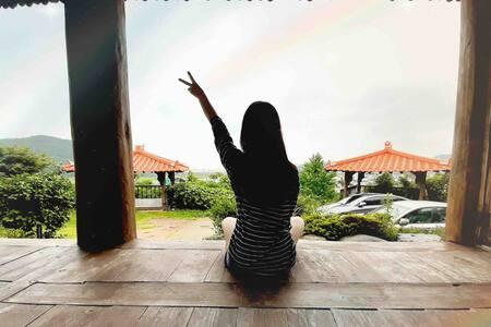 [광주근교]전라남도 보성 한옥스테이_정원 #두번째이야기💚커플여행,우정여행,가족여행‼️