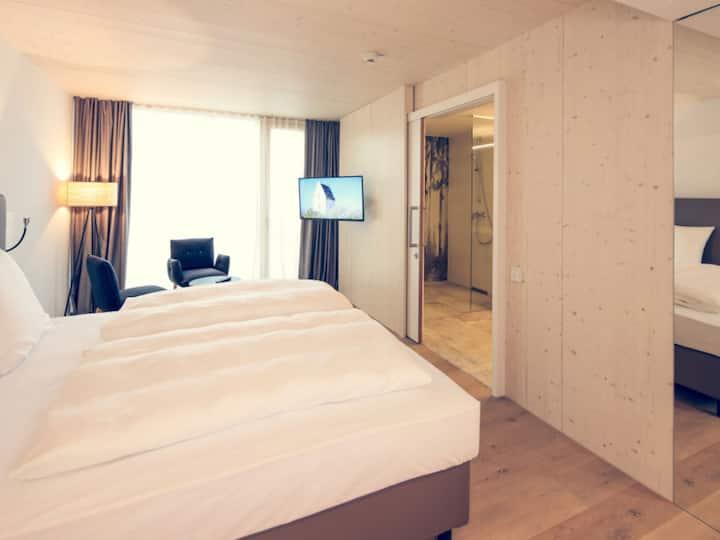 Hotel Wirtshaus Brennerei Klingenstein, (Blaustein), Doppelzimmer Superior klimatisiert mit Dusche/WC