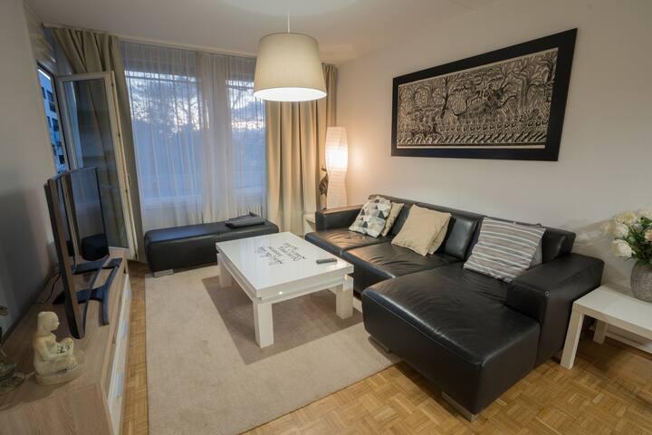 Cosy Apartment close Geneva City Center