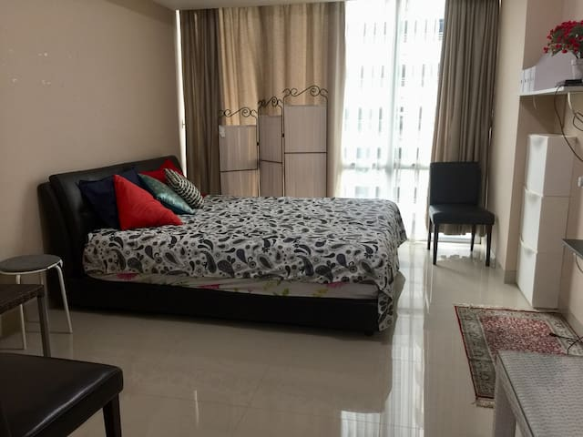 Studio Apartment in central Lippo Karawaci