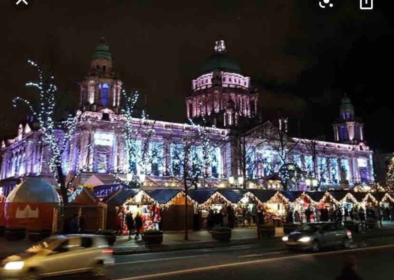 Belfast Christmas Market at City Hall