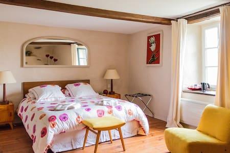 Chambre familiale Coquelicot (3 pers) /Ch. d'hôtes - Saint-Briac-sur-Mer