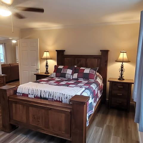 1 bedroom suite offers an amazing memory foam bed and cool gel pillows that will make you want to sleep in, and why shouldn't you when you are away!