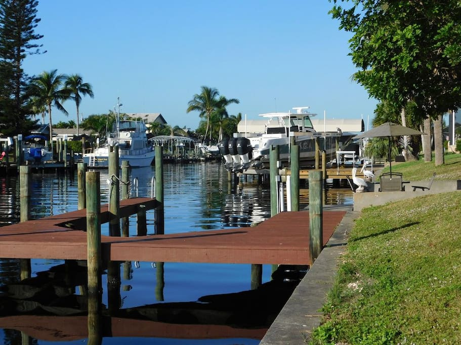 Dock on canal