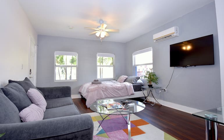 ☆ Wow! 2mins→ Wynwood || FREE Parking & Netflix