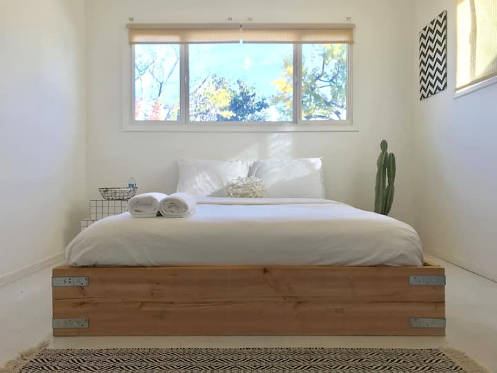 Private & clean bedroom with amazing natural light