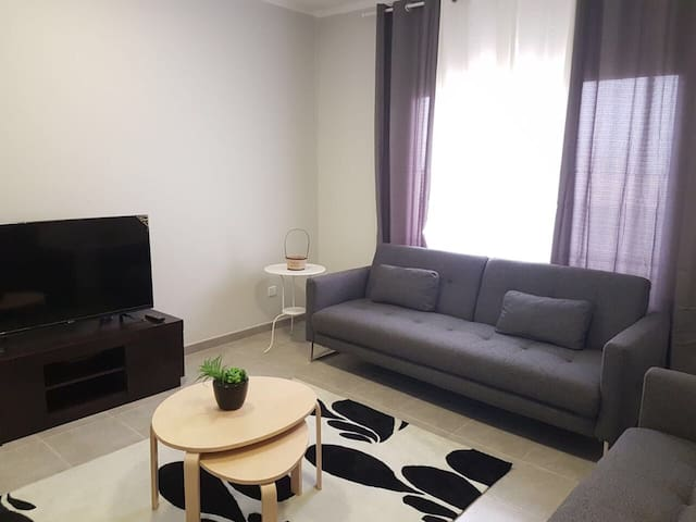 A fully furnished one bedroom cozy apartment