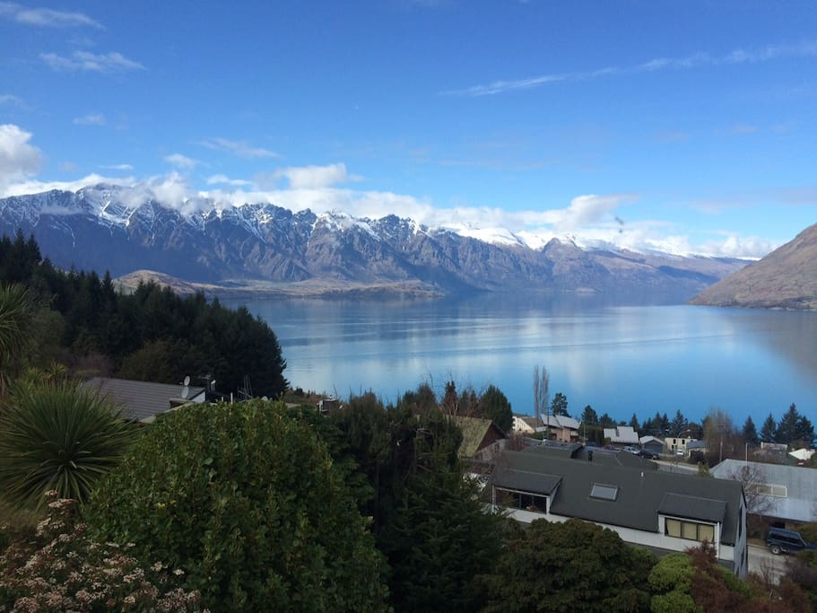 View of The Remarkables Range from apartment