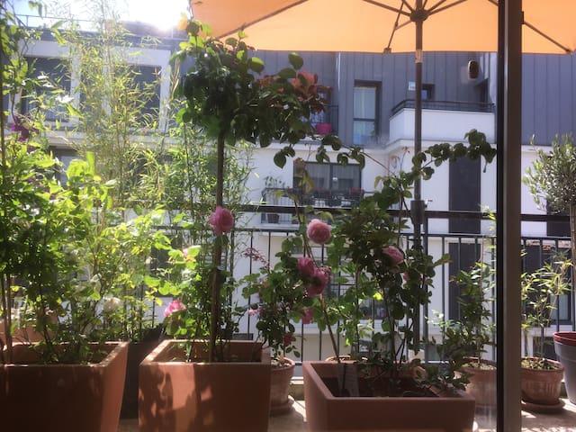Bel appartement F3 (65m²) près Paris