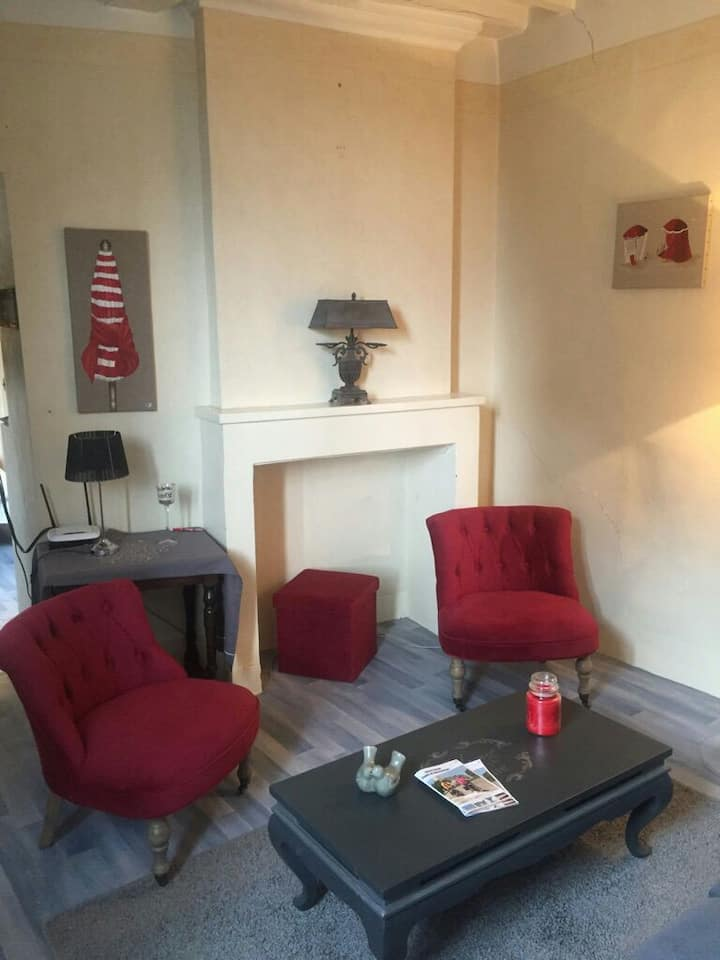 Suite romantique 60m3 centre historique Bayeux
