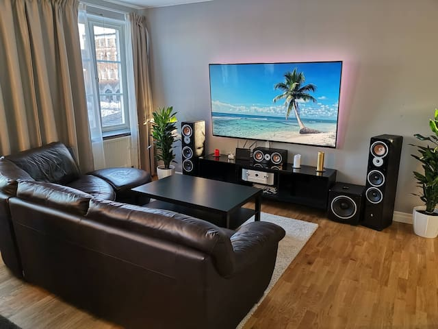 Large apartment in city centre
