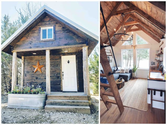 Redstar Cabin - Waterfront Tiny Home in the Woods