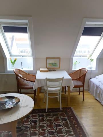 Great sunny studio apartment in Copenhagen Ø