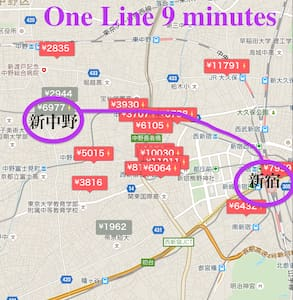「0」minute from Shin-Nakano station! - Nakano-ku
