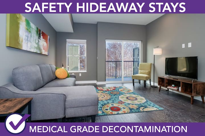 Safety Hideaway - Medical Grade Clean Home 61