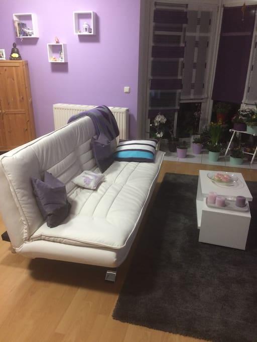 Sofa 1,40 m ausziehbar