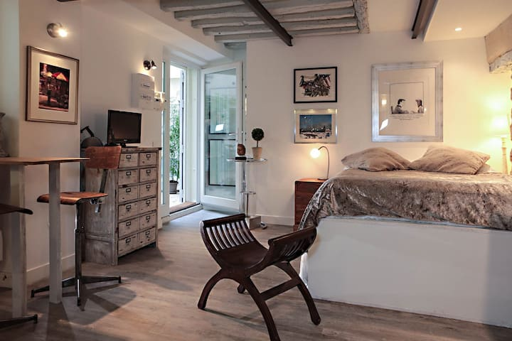 AUTHENTIC APARTMENT NEAR THE MARAIS IN PARIS