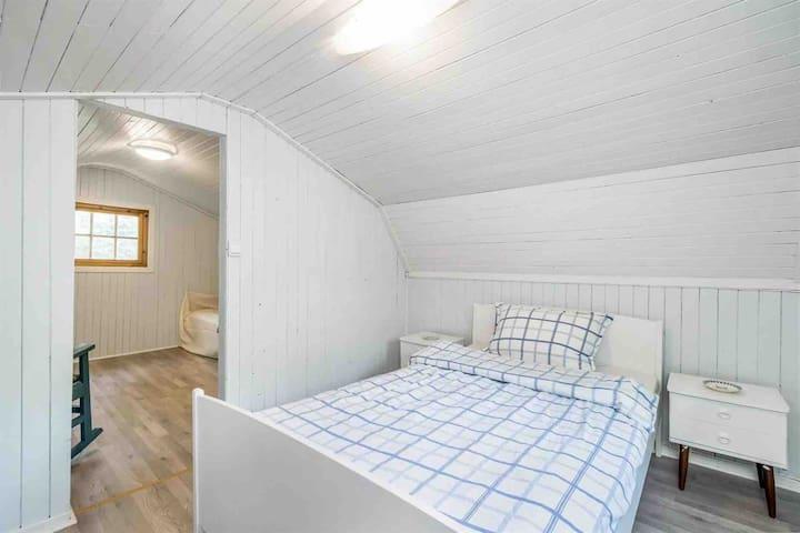 100cm  bed in 2nd floor.