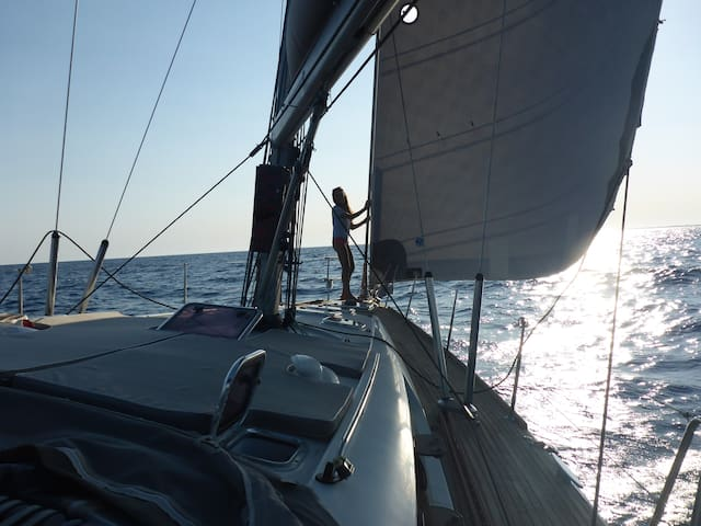 Family Holidays in a crewed 45 feet boat