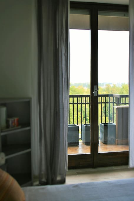 Vista camera e balcone - bedroom view and balcony