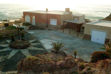 Villa en la playa del Faro de Cabo de Gata