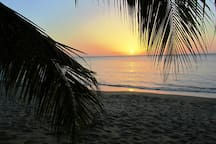 Enjoy the sunset from Lower Bay beach