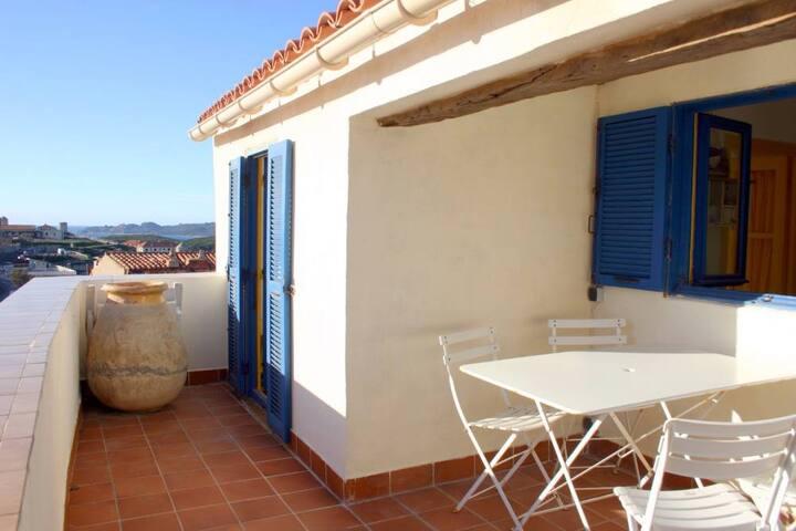 Une terrasse de rêve - Bonifacio - Wohnung