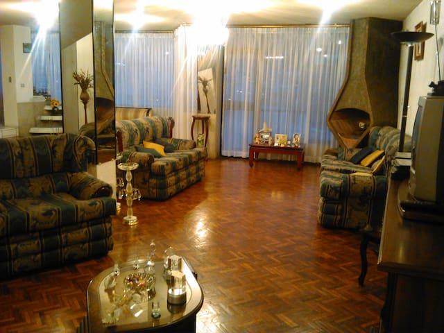 Habitación Amoblada, casa familiar