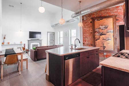 Unique Penthouse! Historic OTR w/ Parking!