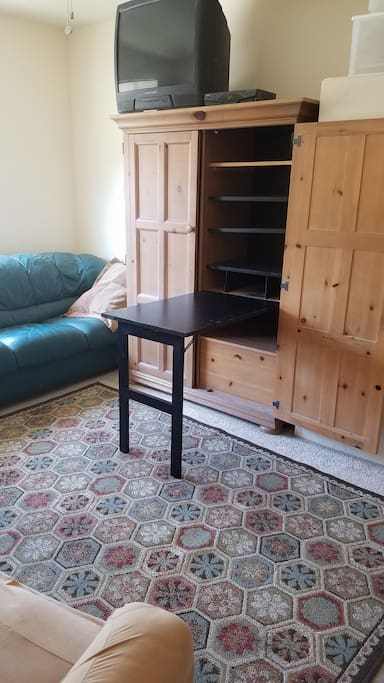 Fold down table or desk
