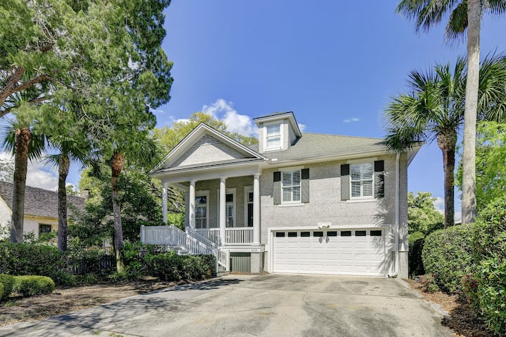 New listing! Family-friendly, beach retreat w/ private pool - steps from ocean!