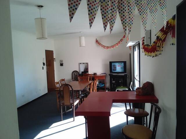 Alquilo habitaciones en departamento compartido