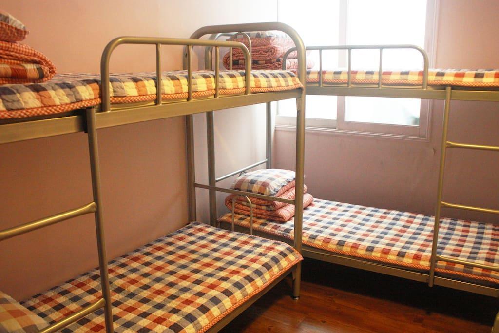 4인실 침대