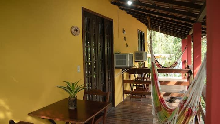 Suites Araçatibinha ideal para casais.