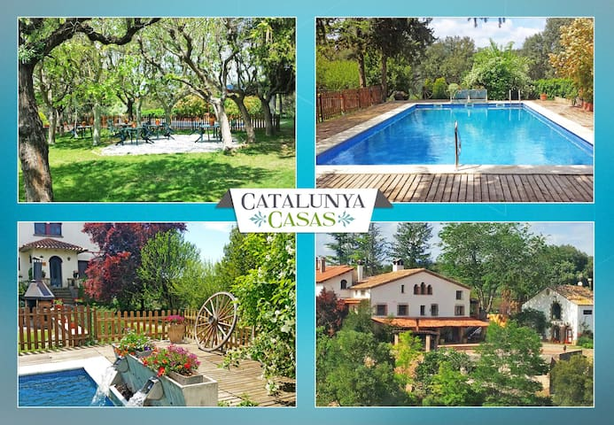 Catalunya Casas: Masia de Gaia for up to 20- 39 guests in the Catalonia countryside!