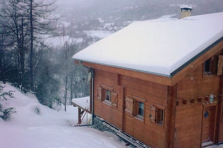 hébergement dans châlet à 10 min du ski - Colmars