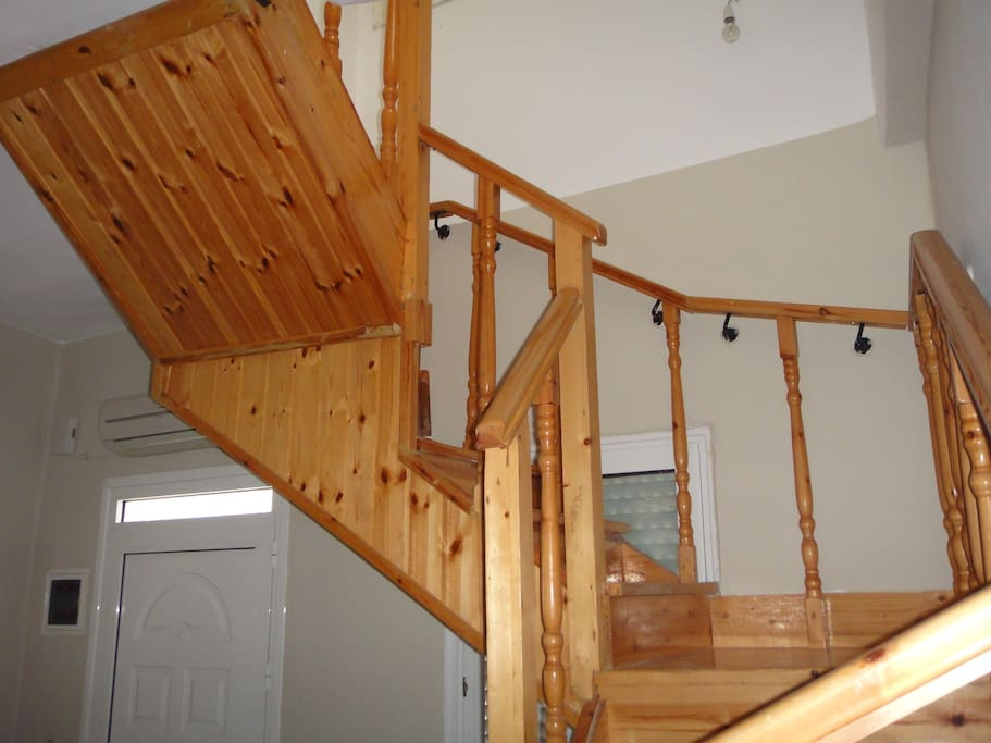 Internal Wooden Staircase