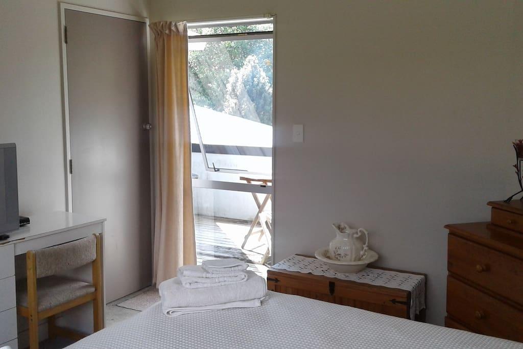 Queen Bedroom View 2