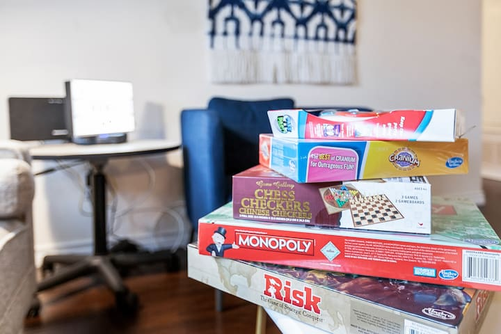 Board games for some fun!