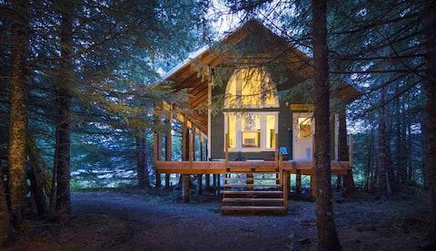 """The Cabins at Kenai Lake- """"Ketchikan"""""""