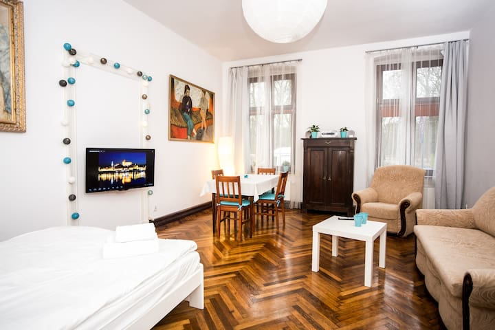 Przytulny apartament Sienkiewicza
